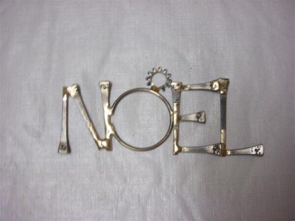 Noel Horseshoe Nail Ornaments